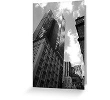 Skyscraper One Greeting Card