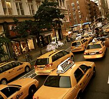 New York Cabs by nikkigdesign