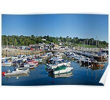 Harbour Overview ~ Lyme Regis Poster