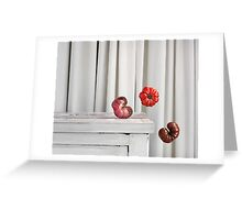 Still Moment with Heritage Tomatoes Greeting Card