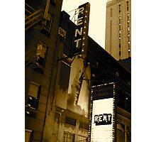 Rent Photographic Print