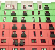 Colourful facade by Janette Anderson