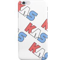 K.A.S  Slanted Logo Phone Cover iPhone Case/Skin
