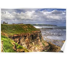 The East Cliff Poster