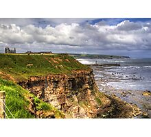 The East Cliff Photographic Print