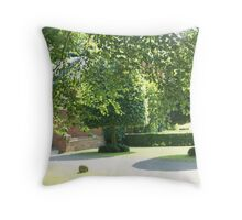 lovely summers day Throw Pillow