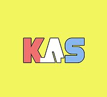 K.A.S Wide Logo Phone Cover - Banana by K. A .S