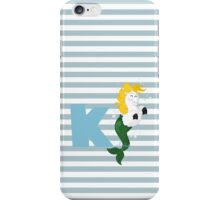 k for kelpie iPhone Case/Skin