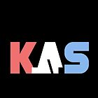 K.A.S Large Logo Phone Cover - Black by K. A .S
