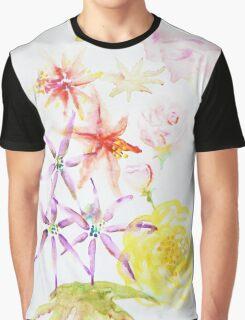 Watercolour flowers Graphic T-Shirt