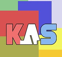 K.A.S Large Logo Phone Cover - Multicolor by K. A .S
