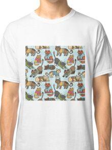 Christmas Cats Classic T-Shirt