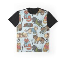 Christmas Cats Graphic T-Shirt