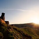 The Wainstones at Sunset by PaulBradley