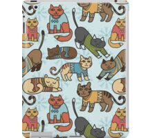 Christmas Cats iPad Case/Skin