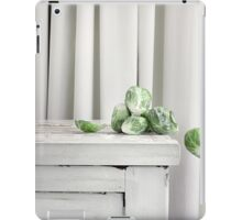 Still Moment with Brussel Sprouts iPad Case/Skin