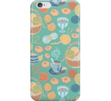 I love knitting! iPhone Case/Skin