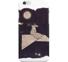 Bird on a paper plane iPhone Case/Skin