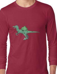 Bulbersaur dinosaur Long Sleeve T-Shirt