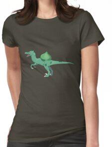 Bulbersaur dinosaur Womens Fitted T-Shirt