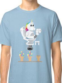 Rainbow Unicorn Ice Cream Classic T-Shirt