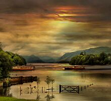 Derwent Water by Irene  Burdell