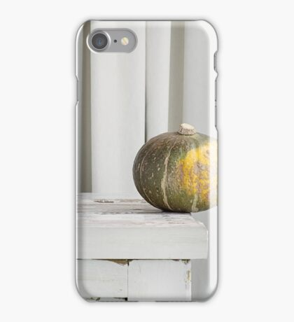 Still Moment with Jap Pumpkin iPhone Case/Skin