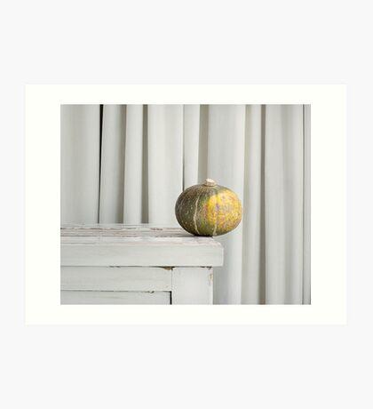 Still Moment with Jap Pumpkin Art Print
