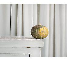 Still Moment with Jap Pumpkin Photographic Print
