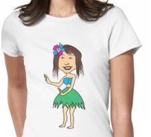 Hula Womens Fitted T-Shirt