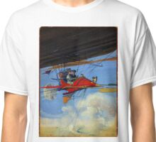 Vintage Aerostatic Cabriolet of Tomorrow Classic T-Shirt