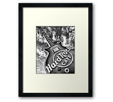 Hard Rock Cafe Las Vegas Framed Print