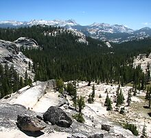 The Distant Cathedral Range, Pacific Crest Trail, CA 2012 by J.D. Grubb