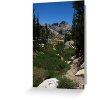 West of Benson Pass, Pacific Crest Trail, CA 2012 Greeting Card