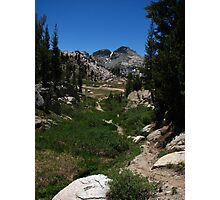 West of Benson Pass, Pacific Crest Trail, CA 2012 Photographic Print