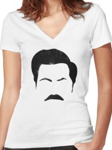 Swanson Women's Fitted V-Neck T-Shirt