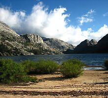 The Windy Serenity of Benson Lake, Pacific Crest Trail, CA 2012 by J.D. Grubb
