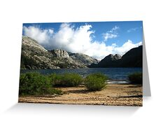 The Windy Serenity of Benson Lake, Pacific Crest Trail, CA 2012 Greeting Card