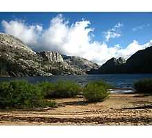 The Windy Serenity of Benson Lake, Pacific Crest Trail, CA 2012 Photographic Print