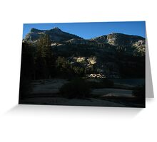 Dawn on Benson Lake's Southern Rim, Pacific Crest Trail, CA 2012 Greeting Card