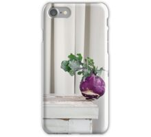 Still Moment with Kohlrabi iPhone Case/Skin