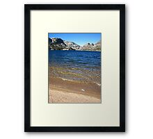 The Benson Riviera 2, Pacific Crest Trail, CA 2012 Framed Print