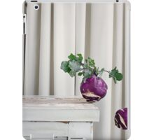 Still Moment with Kohlrabi iPad Case/Skin
