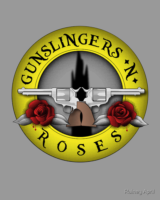 Gunslingers N' Roses by Rainey April