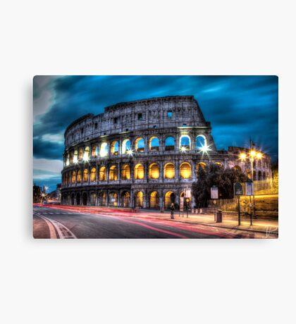 HDR Coliseum Canvas Print