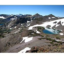 Latopie Lake Region, Pacific Crest Trail, CA 2012 Photographic Print