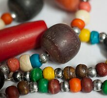 Colorful Beads in chains - ladies jewelery by ashishagarwal74