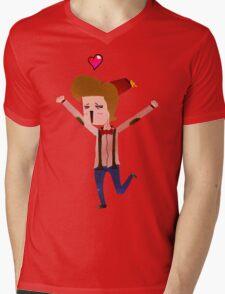 Doctor Wheee! Mens V-Neck T-Shirt
