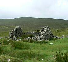 stone ruins on Achill Island by valjones