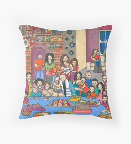 Hanukkah Throw Pillow